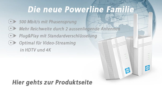 WISI Powerline-Adapter